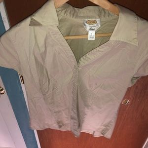 TALBOTS Button Up Size 8 Womens Top